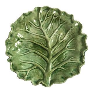 Cabbage Leaf Serving Plate