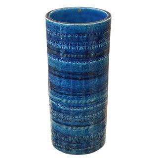 Italian 1960s Rimini Blue Bitossi Vase
