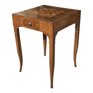 19th Century Italian Walnut Game Table