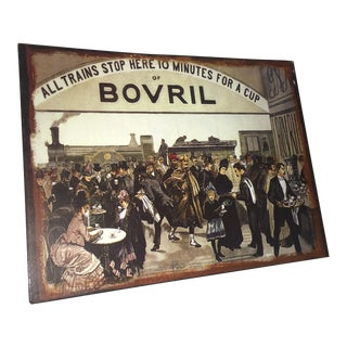 English Tin Advertising Repro for Bovril