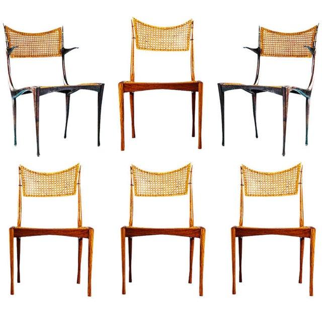 "Dan Johnson ""Gazelle"" Chairs - Set of 6 - Image 1 of 6"