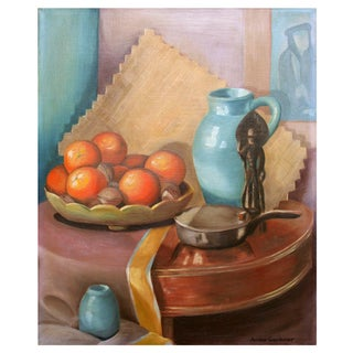 1952 Oranges and Pitcher Still Life