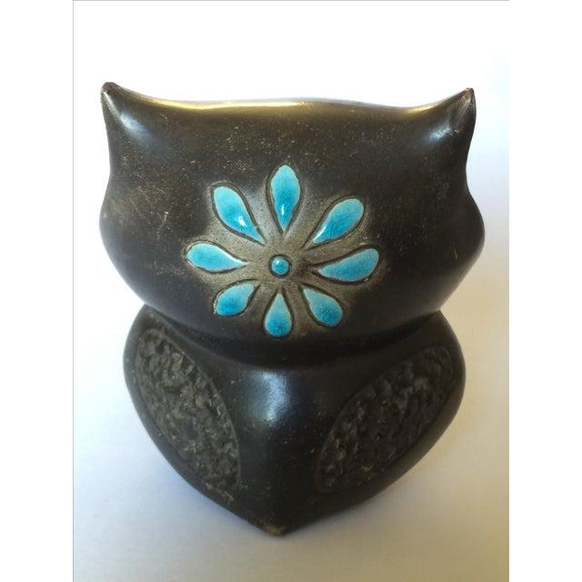 1960's Midcentury Ceramic Owl - Image 5 of 11