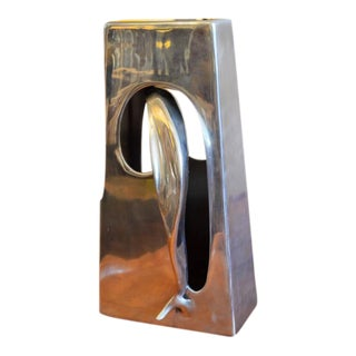 Abstract Aluminum Sculpture by Bill Keating