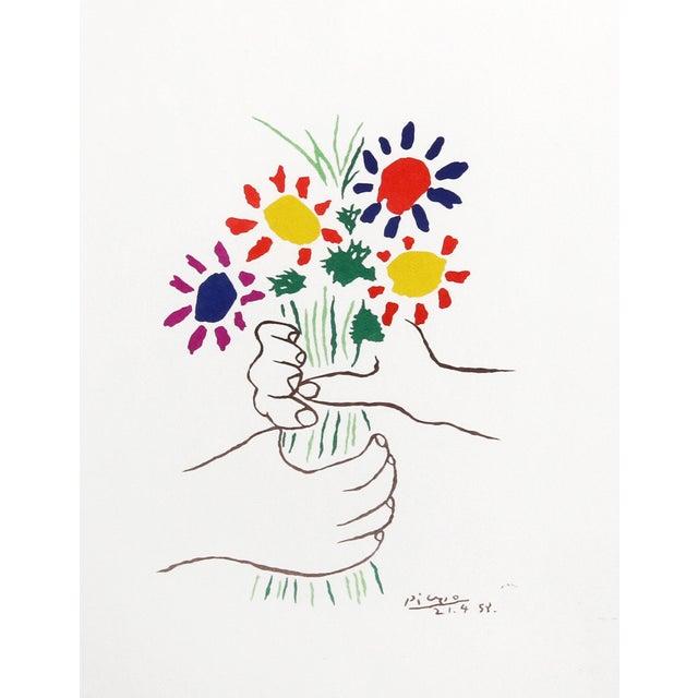 Pablo Picasso Offset Lithograph - Le Bouquet - Image 2 of 3