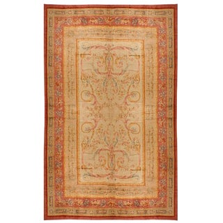 Antique Oversize 19th Century French Savonnerie Carpet