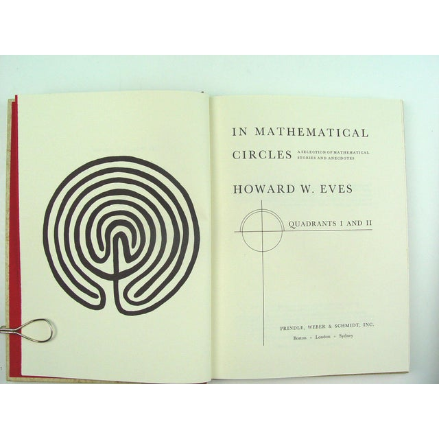 In Mathematical Circles Book by Howard Eves - Image 6 of 6