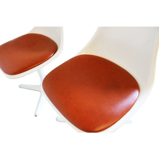 Mid-Century Modern Burke Tulip Chairs - Set of 4 - Image 8 of 9