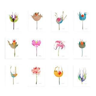 Premium Giclee Prints of Botanical Grouping Set of 12