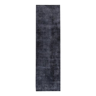 "Apadana - Vintage Overdyed Rug, 3'1"" x 11'2"""