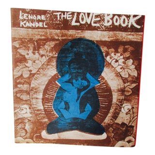 "Lenore Kandel ""The Love Book"" 1st Edition SF Hippie Culture Book"