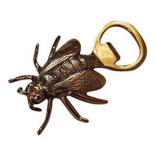 Brass Royal Bee Bottle Opener