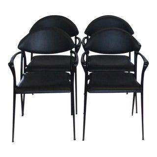 Design Luigi Origlia Coro Dining Chairs - Set of 4