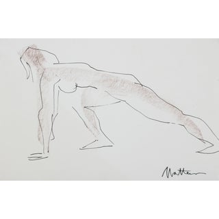 Late 20th Century Nude Figure Drawing