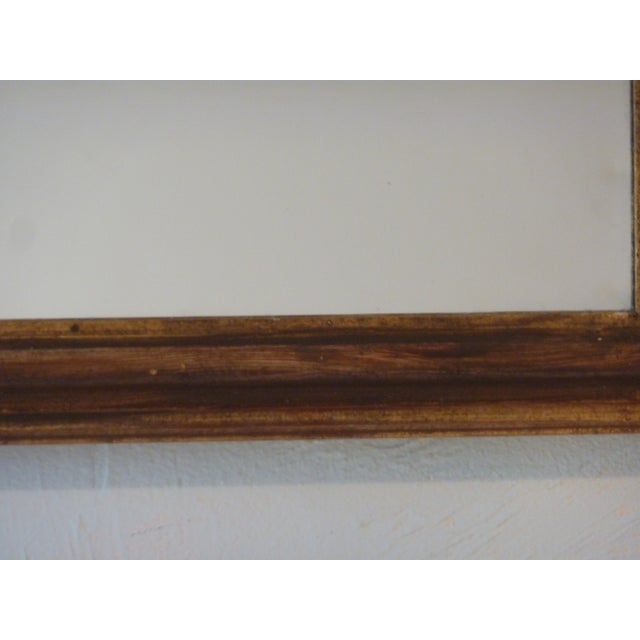 Italian Carved Wood Mirror - Image 4 of 5