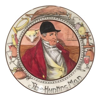 "Royal Doulton ""The Hunting Man"" Plate"