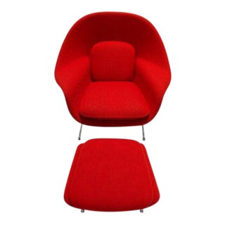 Eero Saarinen for Knoll Womb Chair & Ottoman