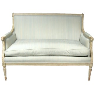 Settee in French Louis XVI Style