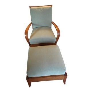 Dakota Jackson Ceylon Lounge Chair and Ottoman
