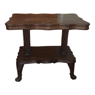 Antique Claw Foot Table