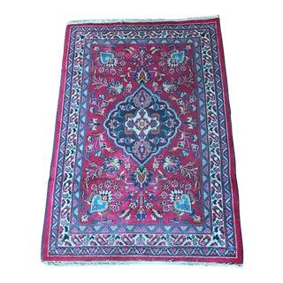 Colorful Persian Rug - 2′10″ × 4′4″