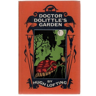 """Doctor Dolittle's Garden"" 1955 Hugh Lofting Book"