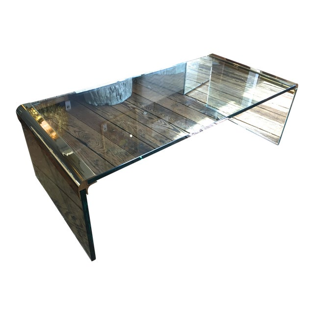 Leon Rosen For Pace Waterfall Coffee Table Chairish