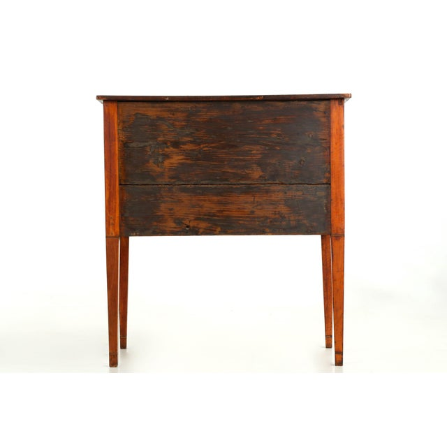 Image of C. 1780 George III Satinwood Commode