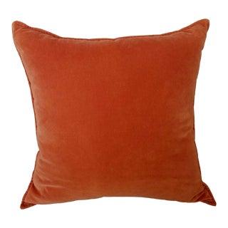 Crate & Barrel Velvet Pillow