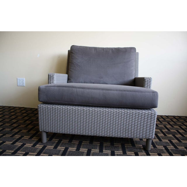 Barbara Barry Plateau Lounge Arm Chair - Image 5 of 5