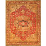 Image of Pasargad Serapi Collection Red Rug - 4' X 5'11""