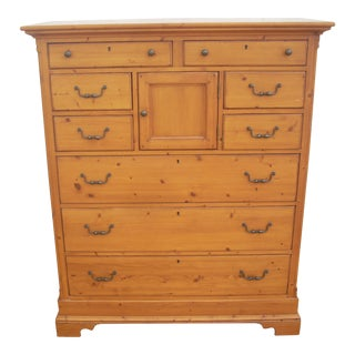 Lexington Furniture 9 Drawer Pine Chest