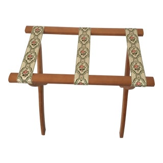 Vintage Collapsable Maple Luggage Rack