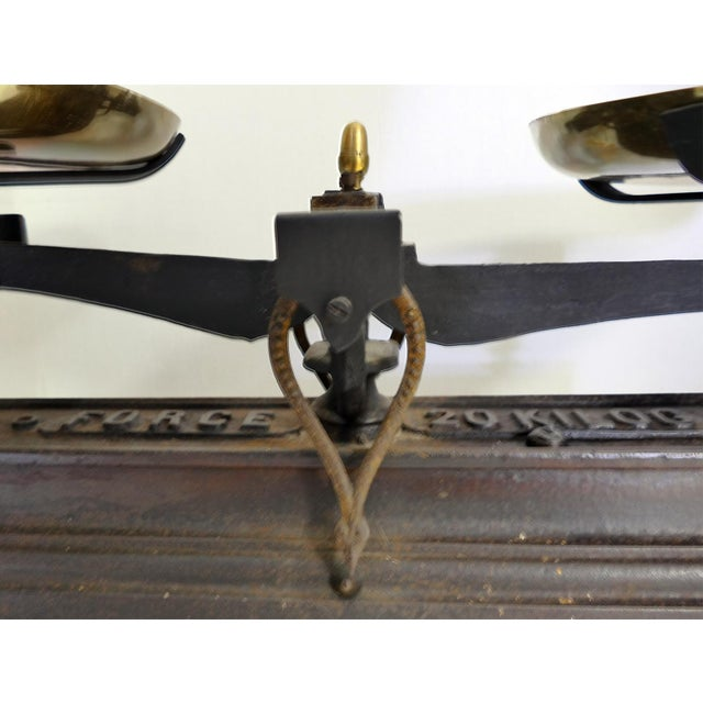 French Vintage Iron Scale - Image 4 of 6