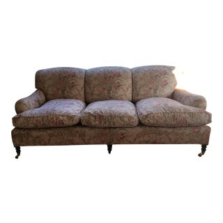 Floral George Smith Signature Sofa