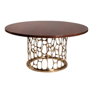 """Homage to Gaudi"" Bronze Dining Table by Nick King"