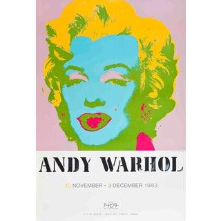 "1983 Andy Warhol ""Marilyn Monroe"" Serigraph"