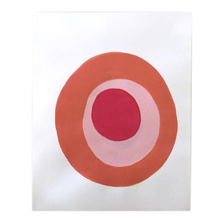 "Neicy Frey ""Dot No. 34, Quince"" Original Painting on Paper"