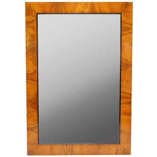 Walnut Frame Mirror