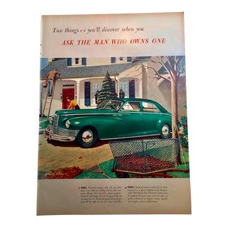 1946 Vintage Packard Auto Ad