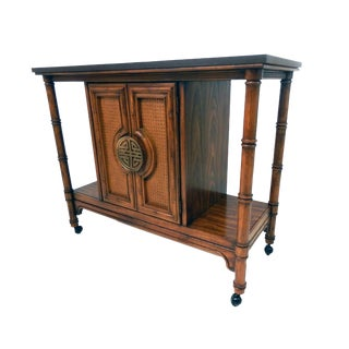 Hollywood Regency Asian Influence Sideboard