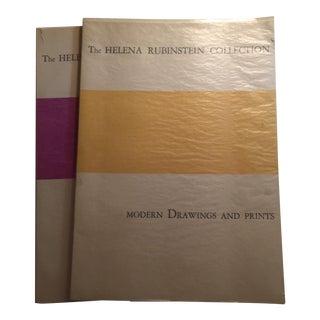 Helena Rubenstein Collection Art Catalogs 1966 - Pair