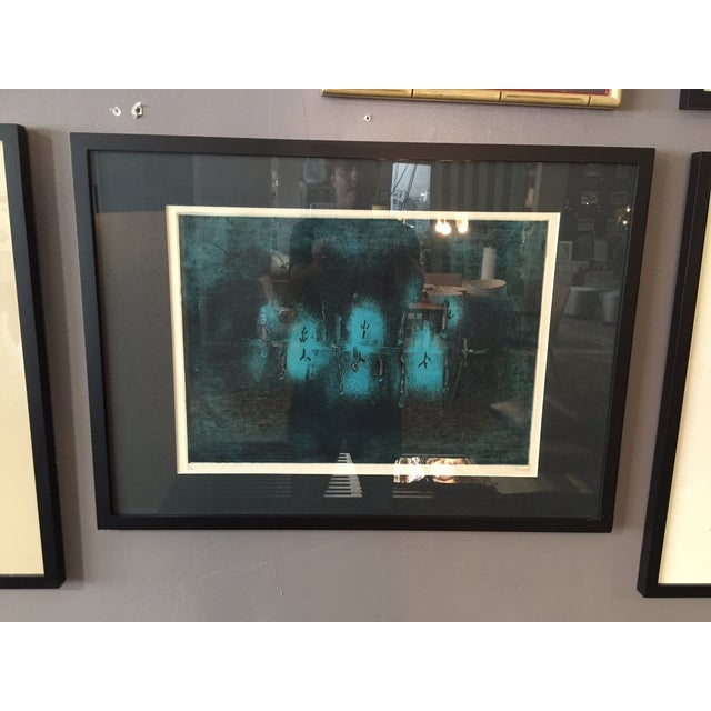 Large Color Etching by Juichi Saito - Image 2 of 6