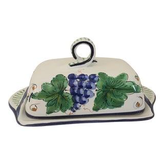 Italian Ceramic Butter Dish