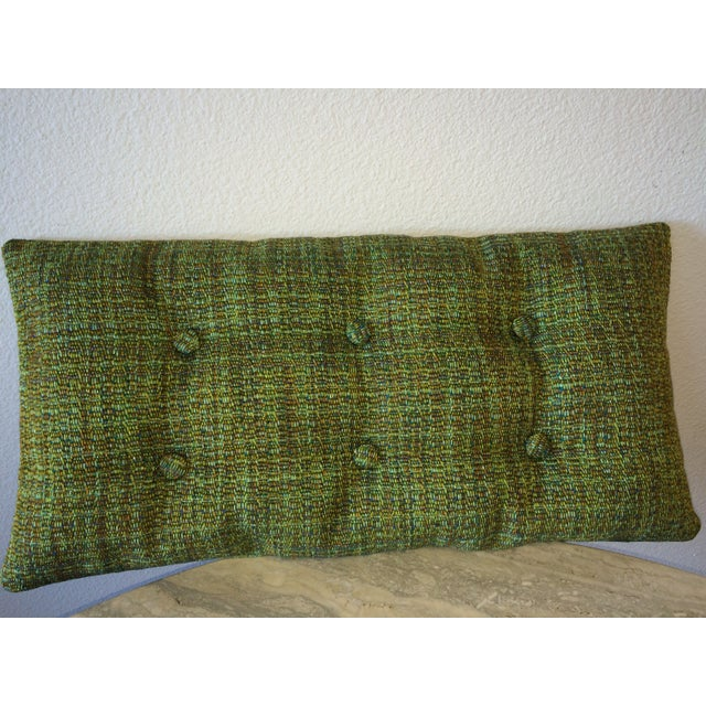 Mid-Century Modern Tufted Pillow - Image 2 of 2