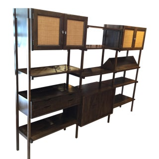 Mid-Century Modular Storage Unit Bookcase