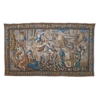 Flemish Tapestry of Caesar returning to Rome