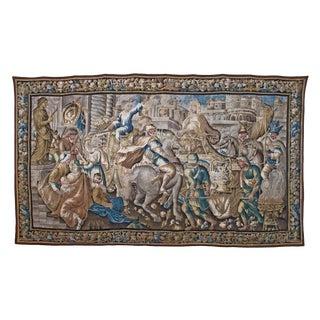 Flemish Tapestry of Caesar returning to Rome