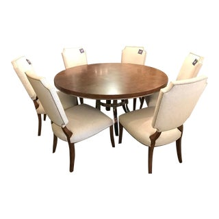Bernhardt Soho Luxe Dining Table and 6 Chairs