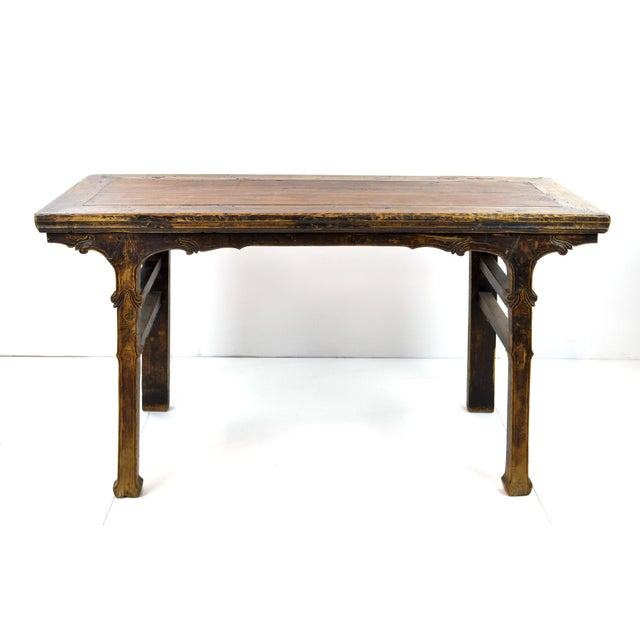 Rustic Antique Chinese Console Table - Image 2 of 10